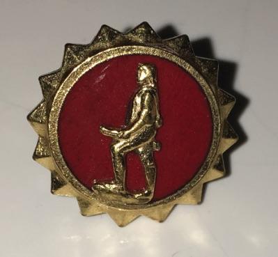 Katy's minutemen pin