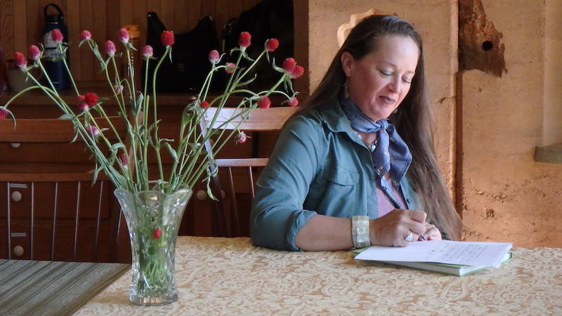Veteran writes at weekend residency